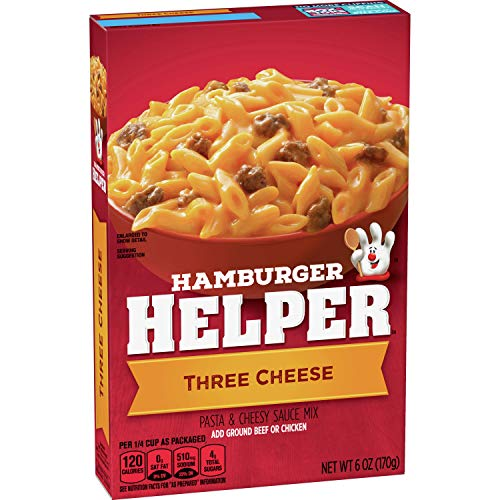 Betty Crocker Hamburger Helper Three Cheese 6 oz Box (pack of 6)