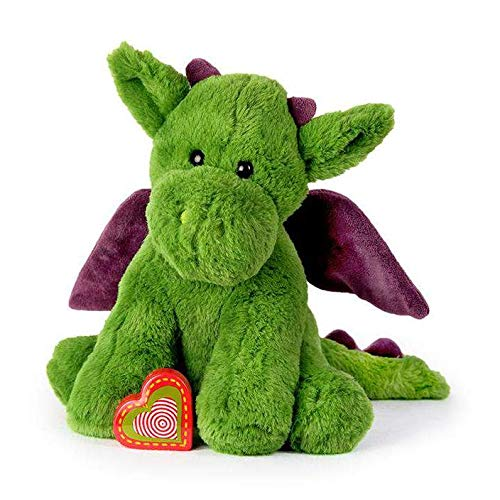 My Baby's Heartbeat Bear Recordable Teddy Bear with 20 sec Heart Voice Recorder, Dragon