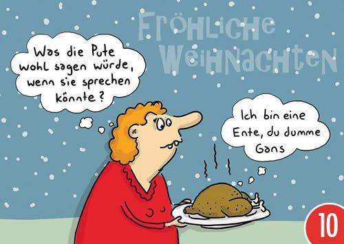 Confezione da pezzi: Cartolina A6+ + + Natale di Modern Times + + + Ich bin un' anatra + + + koepen icker CG Lars, Mario