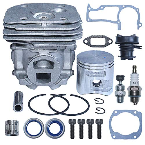 AUMEL 50mm Cylinder Piston Gasket Kit for Husqvarna 365 372XP X-Torq Chainsaw 575 25 57-02