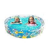 YLJYJ Piscinas para niños, Piscina Inflable para bebés, portátil, al Aire Libre, Lavabo, bañera, Piscina para niños, Piscina para bebés (natación)