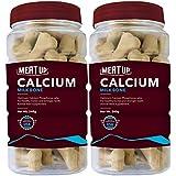 Meat Up Calcium Bone Jar, Dog Supplement Treats - 240 gm, 30 Pieces