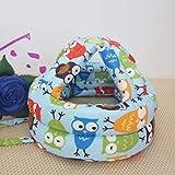 YXR - Gorro de bebé para niños y bebés, anticolisiones, casco de seguridad para bebés, suave, cómodo, ajustable, sombreros y gorras, AliExpress, color Mz3395l., tamaño MZ3395L
