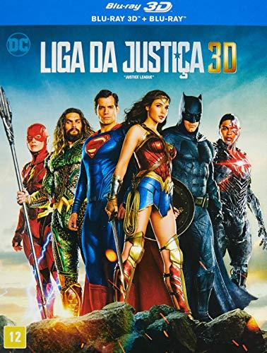 Liga Da Justica 3D [Blu-ray]