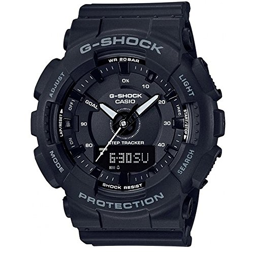 Casio Mens Digital Quartz Watch with Resin Strap GMA-S130-1AER
