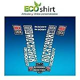 Ecoshirt K4-GAF0-OEYB Pegatinas Stickers Fork Rock Shox Boxxer 2018 Am180 Aufkleber Decals Autocollants Adesivi Forcela, Blanco