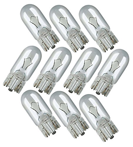 Price comparison product image Motion performance 10 X 501 Capless Sidelight Car Bulb Bulbs Interior Number Plate Side Light 12V 5W