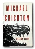 Rare Dragon Teeth - Michael Crichton - Hardcover 1st Edition 2017 Western Fantasy