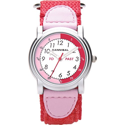 Cannibal CT203–06–Armbanduhr, Armband aus Nylon Farbe rot