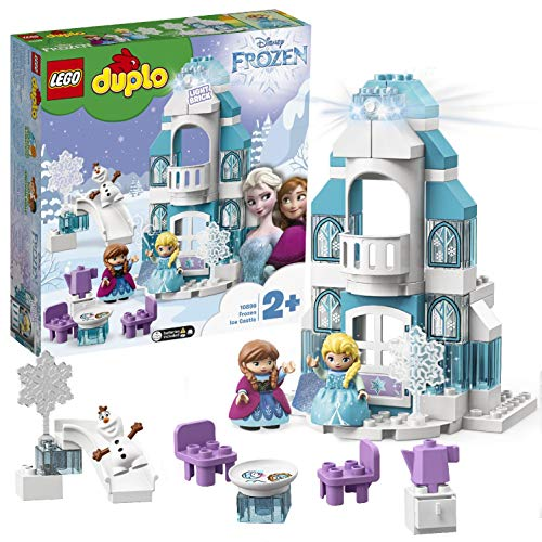 LEGO 10899 DUPLO Elsas Eispalast, Bausteine, Mehrfarbig