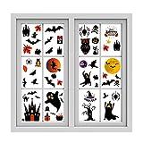 BuerHomie Pegatinas de Pared de Brujas/Espíritus/Espías de la Noche de Halloween, Adhesivas y Quitables, Fáciles de...