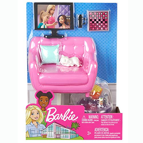 Mattel FXG33 - Barbie interior furniture, multicolor, 1 unit, assorted colors / models