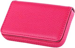 New Pocket PU Leather Business ID Credit Card Holder Case Wallet New J&C Rose