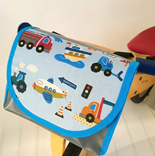 Lenkertasche, wasserdicht von TITA BERLIN, Laufrad, Kinderrad. Lenkertasche Jungs