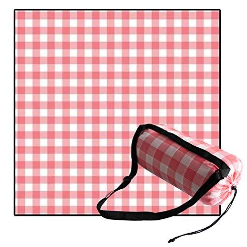 Awnic Decke Picknick Picknickdecke Wasserdicht Groß Tragbar mit Baumwolle Isoliert wasserdichte Decke Waschmaschinenfest 200x200cm