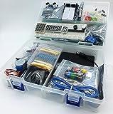 jdhlabstech MEGA Starter kit Ultra (100% Open Source IDE Compatible) w/Batt Holder, WiFi, Bluetooth, Sensors, Modules, Resistor Pack and Components