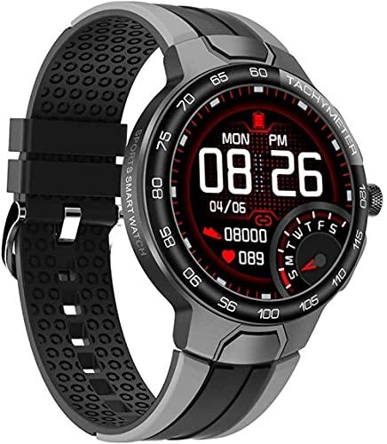 Reloj deportivo inteligente de 1.3 pulgadas pantalla a color GPS Motion Track oxígeno en sangre frecuencia cardíaca y deportes acuáticos Modes-C