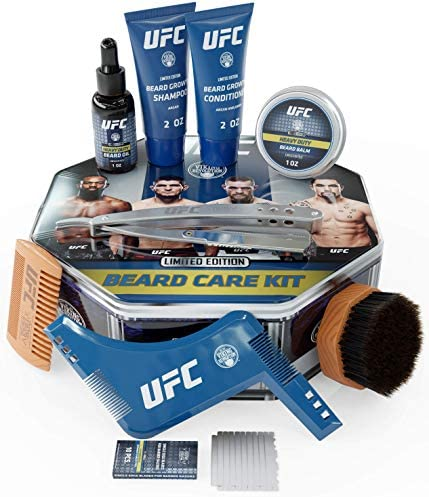 UFC Ultimate Beard Care Kit for Growing and Maintaining a Ferocious Beard Complete Beard Grooming product image