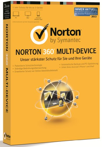 Norton 360 Multi-Device - 3 Geräte (PC, MAC, Android) [import allemand]
