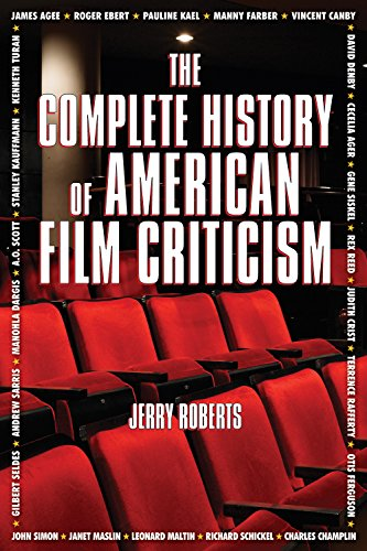 The Complete History Of American Film Criticism Kindle Edition By Roberts Jerry Humor Entertainment Kindle Ebooks Amazon Com