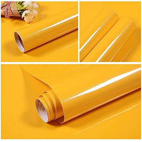 3M/5M pintura impermeable vinilo decorativo película autoadhesiva rollo de papel pintado para muebles de cocina pegatinas PVC decoración del hogar 10 colores
