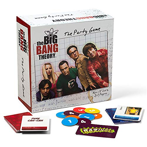 The Big Bang Theory The Party Game - Juego de Mesa (en inglés)