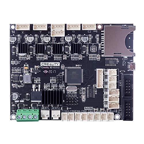 Creality CR-10 V2 Geräuscharmes Mainboard Silent Board, V2.5.2 Silent Motherboard Mainboard-Steuerkarte mit TMC2208-Treiber für CR-10 V2 3D-Drucker