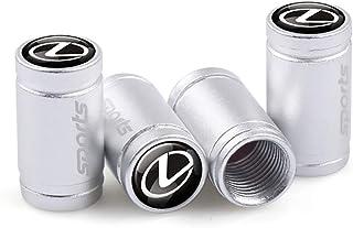 4pcs Motor Car aluminum Metal Car Wheel Tire Air Valve Caps Stem Cover Tyre Stem Air Caps for LEXUS ES200 NX CT200 LX570
