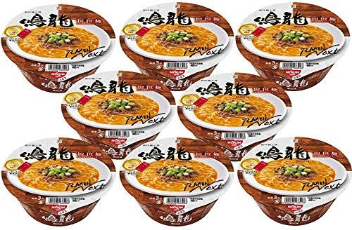 [Value Pack]'NAKIRYU' Japan Famous Ramen Shop's Instant Pot Noodle 8 Pots Value Set Japan Import