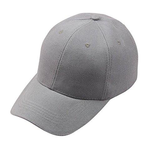 TUDUZ Unisex Kappe Schwarze Baseball Cap Verstellbar Mütze Einfarbig Hut Sommer Cappy - 10 Farben