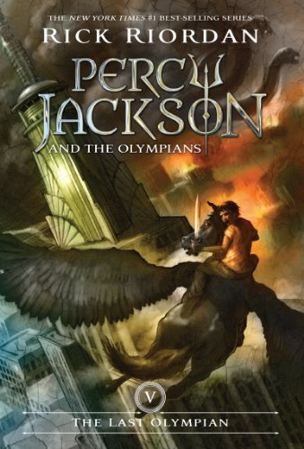 The Last Olympian (Percy Jackson and the Olympians, Book 5) (English Edition)
