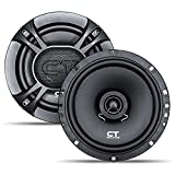 CT Sounds 2-Way Silk Dome Coaxial Car Speakers