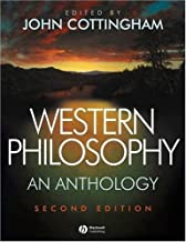 Western Philosophy: An Anthology by Cottingham, John G. 2nd (second) Edition [Paperback(2007)]