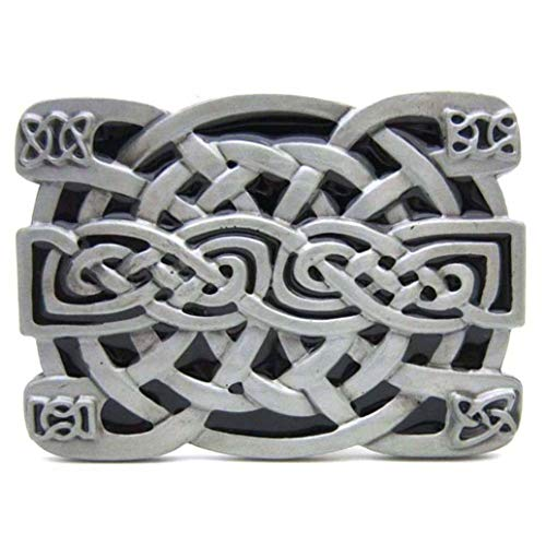 Celtic Knot Belt Buckle, Western Vintage Cowboy Belt Buckles for Men and Women Gifts