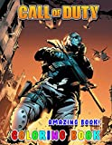 Amazing Book! - Call of Duty Coloring Book: Wonderful Gift For All Call of Duty fans