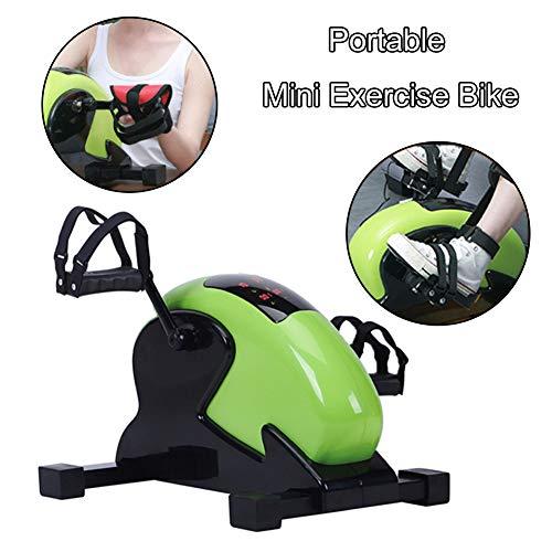 COMY Mini Heimtrainer Magnetic Pedaltrainer Arm- Und Beintrainer Mit LCD-Display Und 8-Gang-Widerstandseinstellung Ideal Für Menschen, Die Zu Hause Trainieren