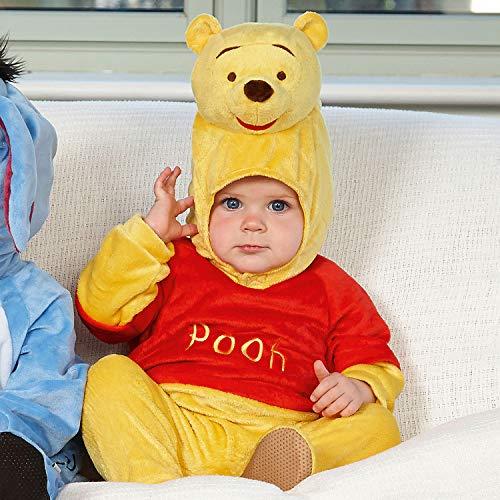 Desconocido Winnie The Pooh Peleles con Disfraz de Cabeza Moldeada, Color por Favor selección, Child 6-12 Months (DCWIN-RPMO-06)