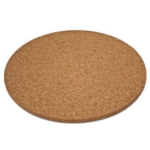Sottopentola di sughero - rotondo (circa Ø 15 cm, 10 mm di spessore)