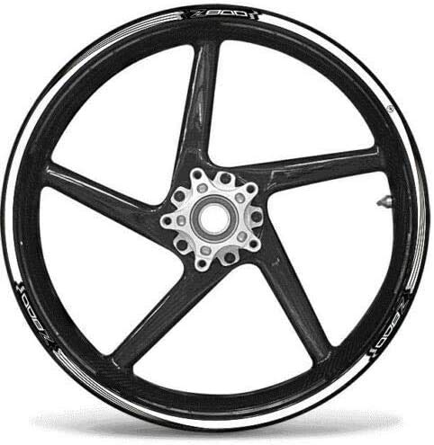 Adhesive Strips KIT kompatibel mit Wheels 17 Motorcycles Kawasaki Z800 Tuning-Aufkleber