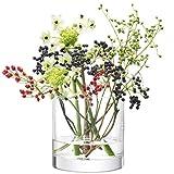 LSA COLUMN Vase/Candleholder H12 x Ø12cm Clear Image