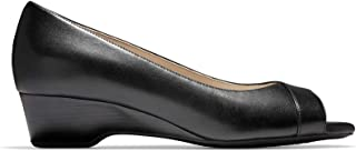 Cole Haan Womens The Go-to Ot Wedge (40 مم)، جلد أسود، 6. 5 US