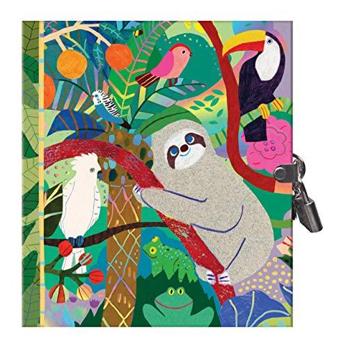 eeBoo - Tagebücher, Journale & Notizbücher für Kinder in Geheimfaultier, Größe 1 EA