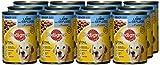 Pedigree Senior Hundefutter Lamm und Geflügel, 12 Dosen (12 x 400 g) - 5