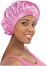 Stay On Satin Satin Edge Bonnet (Pink)