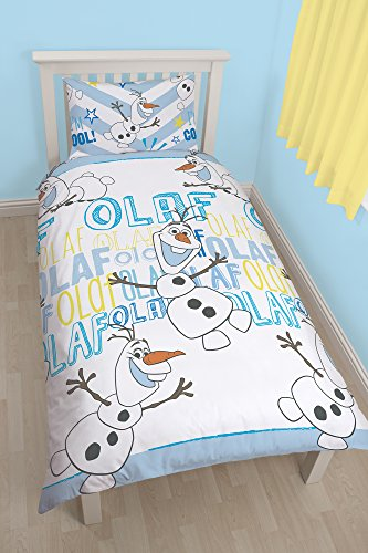 Character World - Disney Frozen Olaf simple Rotary Duvet Set