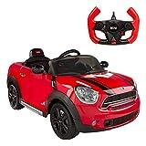 Rastar - Coche de batería para niños Mini Countryman, 6V (85244)