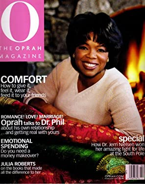 Oprah Winfrey O Magazine February 2001 Comfort Issue