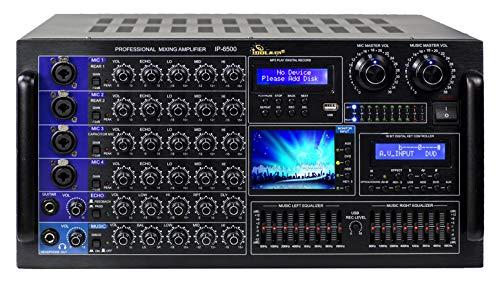 IDOLmain IP-6500 6000W Karaoke Mixing Amplifier/w Digital Sound Effects and Optical Input New-