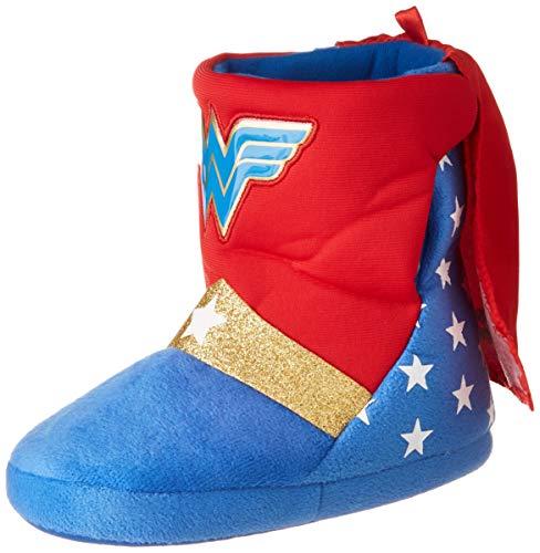 Cerd Zapatillas De Casa Bota DC Superhero Girls, Nias, Rojo (Rojo C06), 29/30 EU