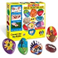 Creativity for Kids Hide & Seek Rock Painting Kit - Arts & Crafts For Kids - Includes Rocks & Waterproof Paint